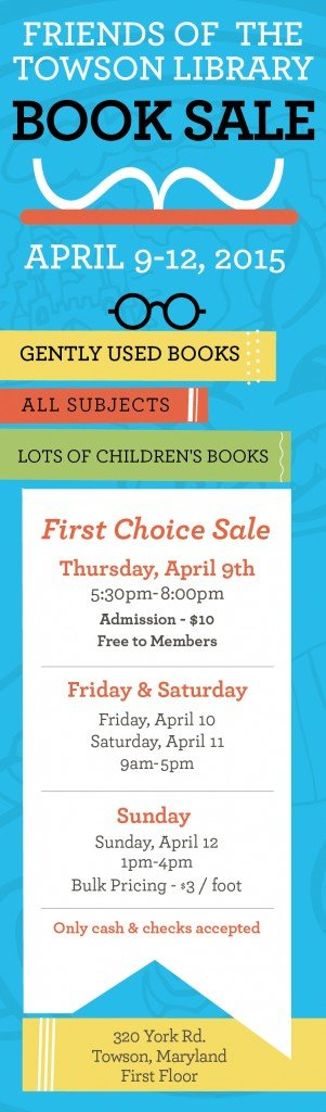 Friends of the Towson Library book sale