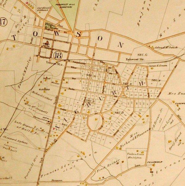 George Washington Bromley's 1898 Atlas of Baltimore County, Maryland, Plate 22