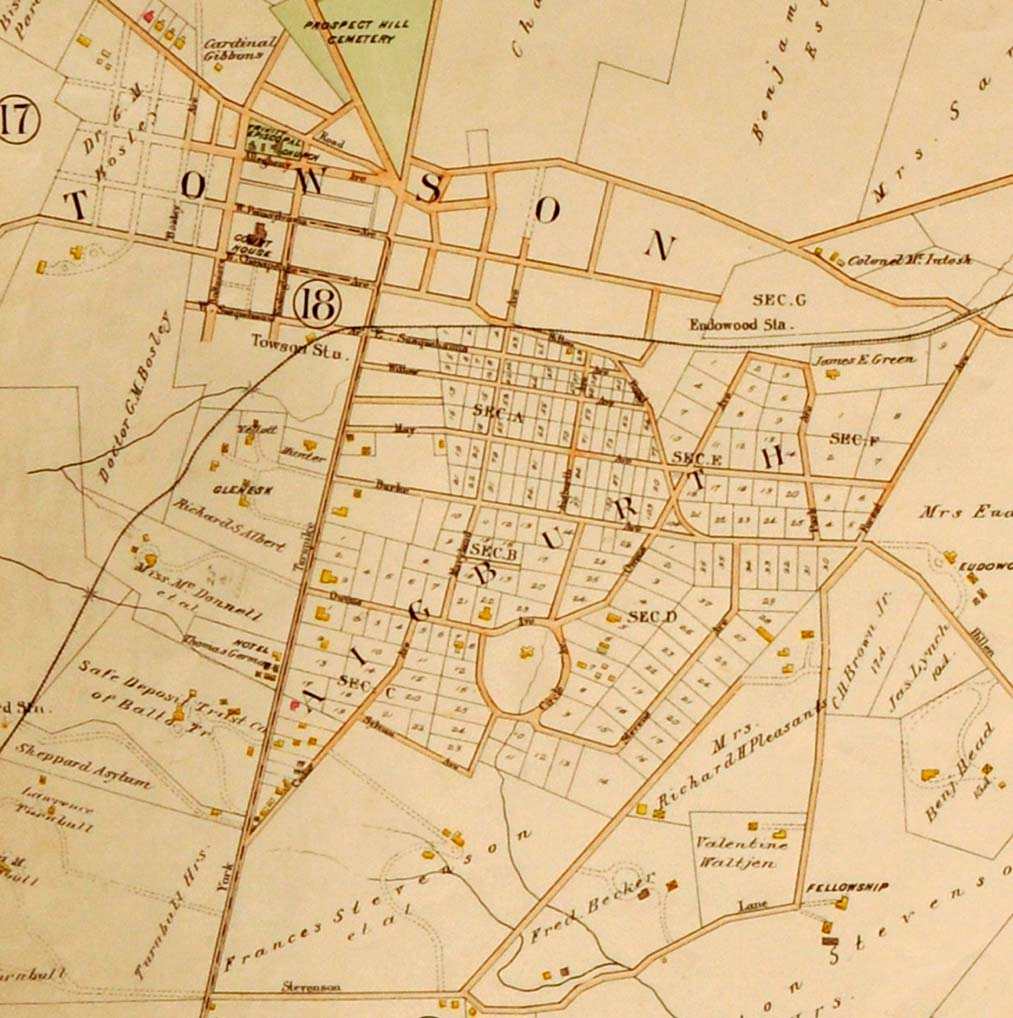 Portion of 1898 Atlas
