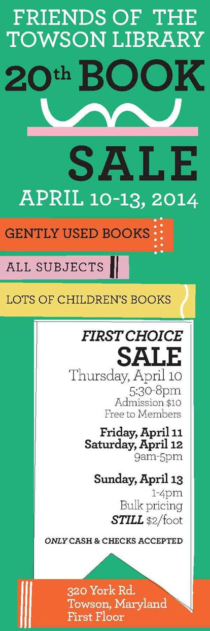 LibraryBookSale2014