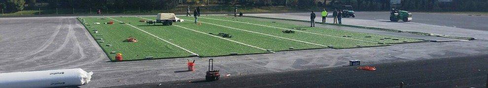 New Towson High School turf field