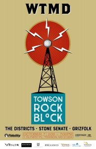 WTMD's Towson Rock Block @ WTMD | Towson | Maryland | United States