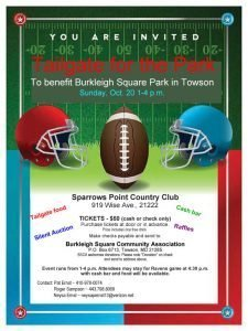 Benefit for Burkleigh Square Park @ Sparrows Point Country Club | Dundalk | Maryland | United States