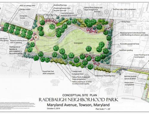 Radebaugh Park concept plan