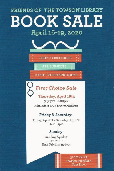 Towson Library Book Sale