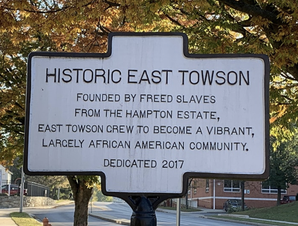 Historic East Towson