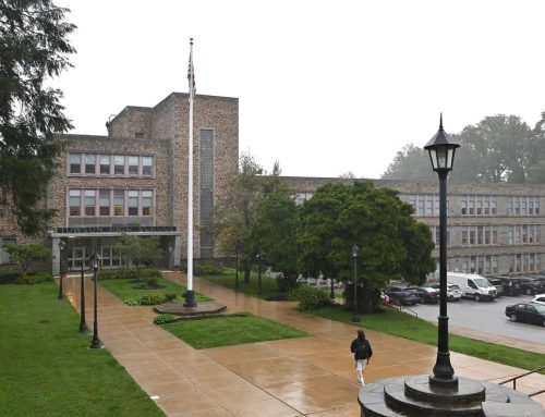 Baltimore County executive says Towson High School's landmark status makes replacement unlikely; advocates urge project forward – Baltimore Sun